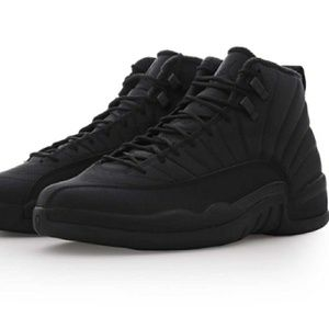 Jordan 12 Winter Black